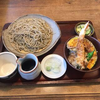 ミニ天丼セット(そば処 みかど )