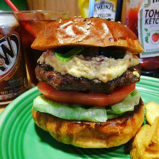ビネガードッピオバーガー(The Burgerlion-バーガリオン)