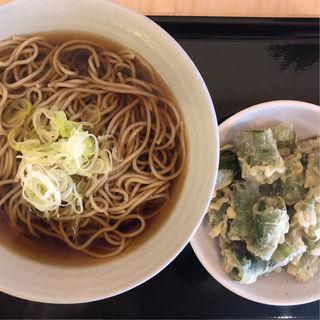 天ぷらそば(天ぷら選べる)(田そば (デンソバ))