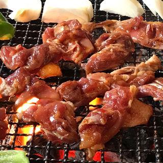 地鶏炭火焼定食