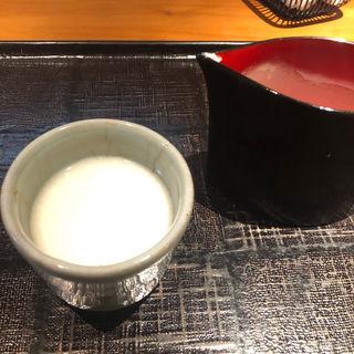 甘酒(玉笑 (たまわらい))