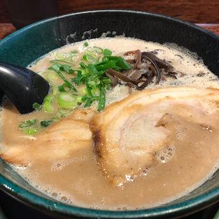 老醤油とんこつ(大鶴製麺処 (十割小麦そばと讃岐うどんのお店))