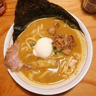 特製ニクカレーうどん +ミニライス付き(ダメヤ 薬院店)