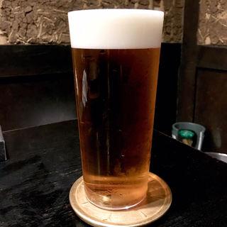 生ビール(マスターズドリーム)(焼き鳥 松元 西中洲本店)