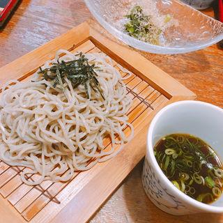 ざる蕎麦(半分量)(そば処楠喜 )