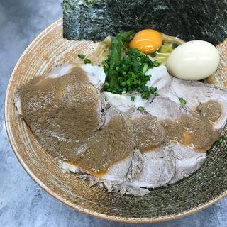 限定 まぜそば牡丹海老ソース 蛤出汁(覆麺 智 (ふくめん とも【旧店名】覆麺))
