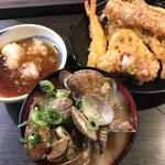 あさりの味噌汁(天ぷら 大吉 なんば店 )