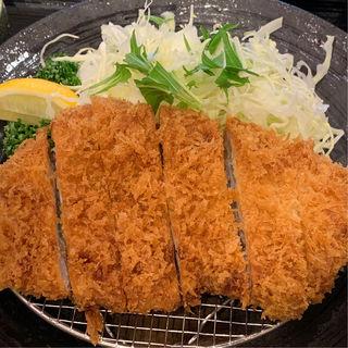 南州黒豚ロースカツ定食(とんかつ 酒菜 くら)