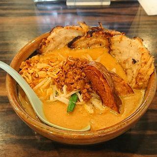 北海道味噌 味噌漬け炙りチャーシュー麺 大盛