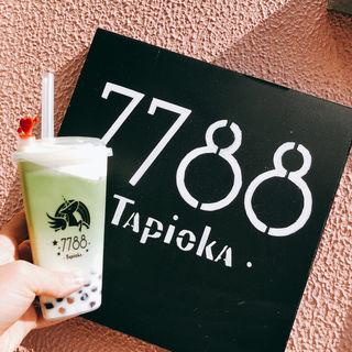 A 濃抹茶タミティー(タピオカ 専門店 7788)