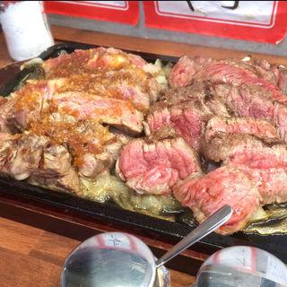 赤焼き&白焼き(肉家まるまさ )