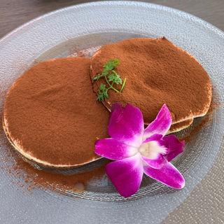 ティラミスパンケーキ(cafe de BoCCo(カフェドボッコ))