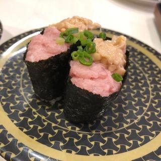 ねぎとろ納豆(はま寿司 博多千代店 )