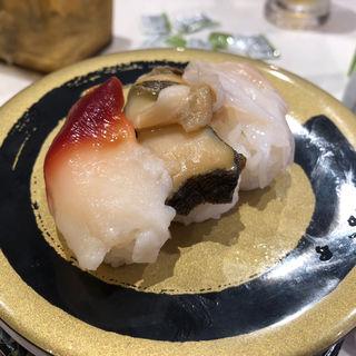 貝3種盛り(はま寿司 博多千代店 )