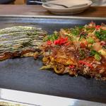 広島焼き&油かすネギ焼
