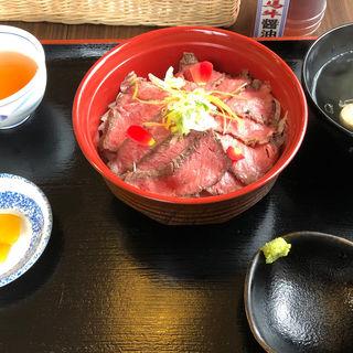 たじま牛ローストビーフ丼