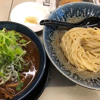 限定 桜肉と京桜味噌のつけ麺(みつか坊主 醸 (カモシ))