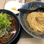 限定 桜肉と京桜味噌のつけ麺