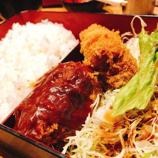 牛トロ+豚トロ(とんかつ藤芳 本店 )