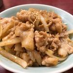 ミニ生姜焼き丼