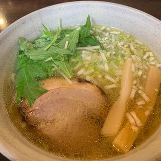 煮チャーシュー麺中盛り(麺らいけん)