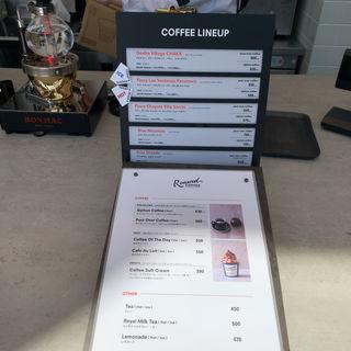 サイフォンコーヒー(Roasted COFFEE LABORAORY 青山ポップアップストア)
