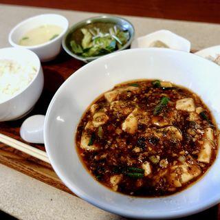 四川麻婆豆腐セット(中華厨房 トクチャイナ)