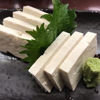 白山堅豆腐