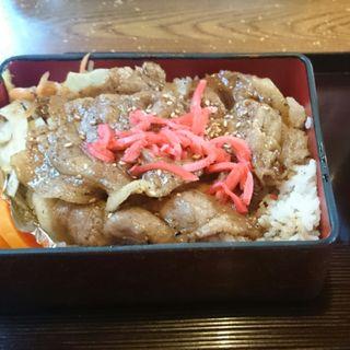 焼肉弁当(多賀部食堂 )