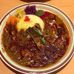 根菜と豆のキーマカリー