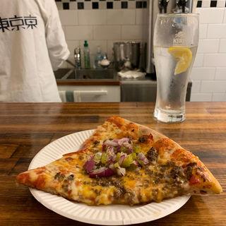 チーズバーガーピザ(yama pizza)