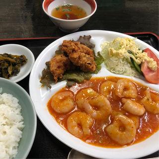A定食(中華茶屋 梁山泊 (チュウカチャヤリョウザンパク))