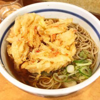 天ぷらそば(かき揚げ)(蕎麦一心たすけ )