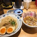 サバ濃厚鶏つけ麺+サバ寿司