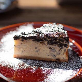 クッキー&クリームのベイクドチーズケーキ(パーランド (parland))