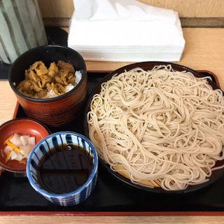 しぐれ丼セット(日替りサービス)(そば作 御成門店 )
