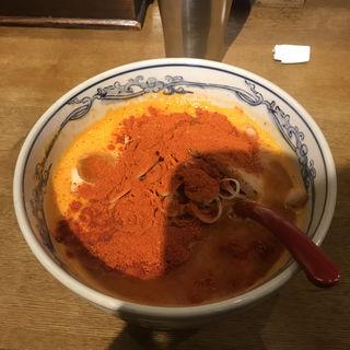 赤まみれ濃厚豚骨ラーメン(麺や 六三六 大阪総本店 )