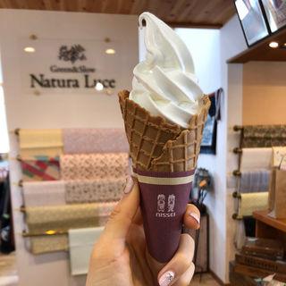 ピュアミルクエクセレントソフトクリーム(ナチュラルーチェ 大井町店)