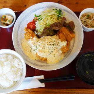 チキン南蛮定食(宮崎辛麺屋 辛福)