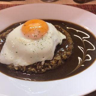 ハンバーグカレー(すぷーん )