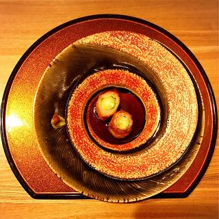 宮城 32度豚と旬菜のフライ 自家製ソース(肉割烹 幹)