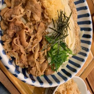 肉うどん(讃式 (SANSHIKI))