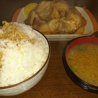 ジャンボ焼豚定食