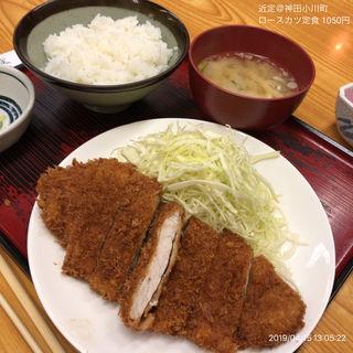 ロースカツ定食(近定 (きんさだ))