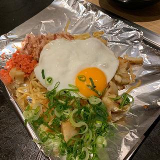 海鮮塩そば(大阪お好み焼き 清十郎)