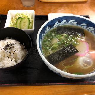 うどん定食(庄屋うどん・そば 別府店 )