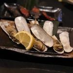 あげまき貝のバター焼き