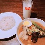 海のミルク  牡蠣カレー(スープカリー スアゲ プラス 本店)