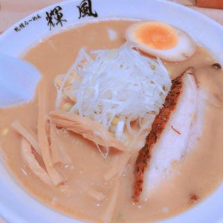 味噌ラーメン(らーめん輝風)