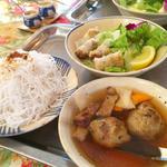 ブンチャー(ハノイの混ぜビーフン)(チャオルア )